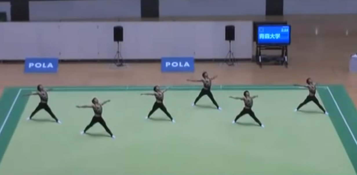 Incredible Japanese Synchronized Gymnastics
