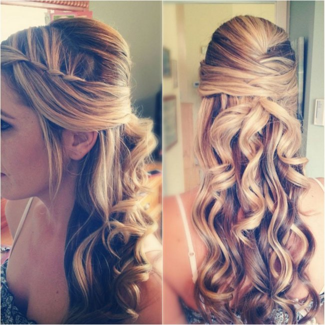 Waterfall-Braid-Wedding-Hairstyle