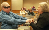 Blind man sees wife for first time in 10 years