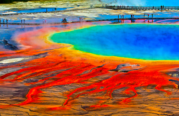 #20 Grand Prismatic Spring, Wyoming