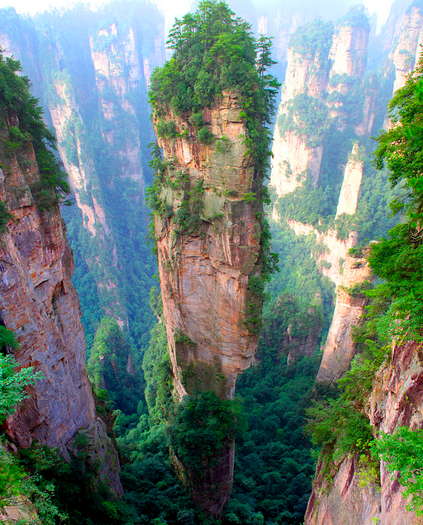 Tianzi Mountains,
