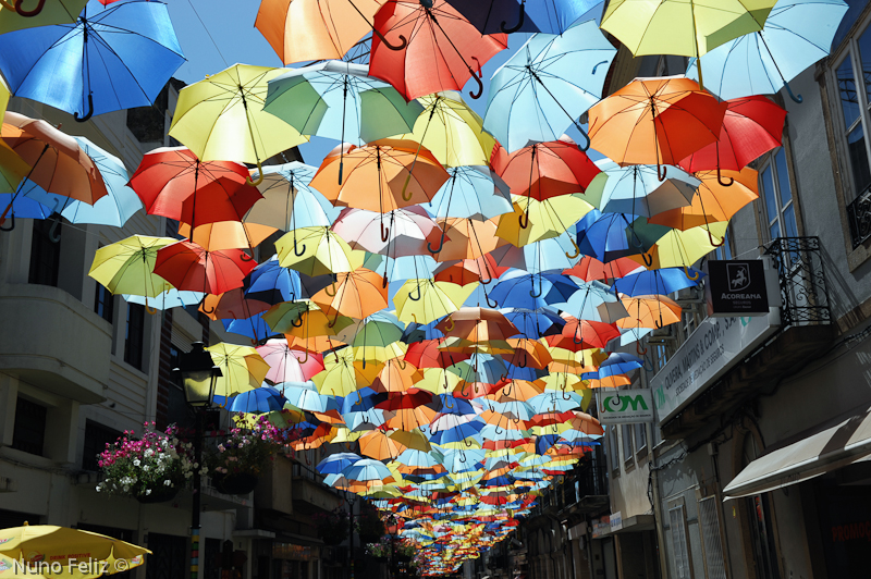 Umbrella Sky Project - Águeda