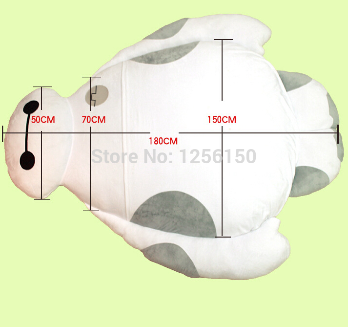 new-2015-Extra-large-size-Big-Hero-6-150cm-180cm-cartoon-Baymax-cushion-mattress-sofa-ground-2