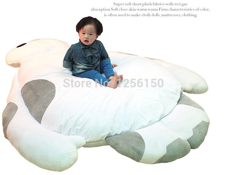 new-2015-Extra-large-size-Big-Hero-6-150cm-180cm-cartoon-Baymax-cushion-mattress-sofa-ground