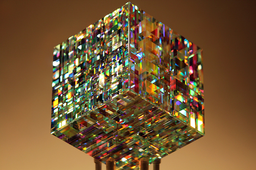 Chroma-Cube-Fine-Art-Glass-Contemporary-Sculpture-by-glass-artist-Jack-Storms-Glass-Sculpture-by-Fine-Art-Glass-Artist-jack-Storms