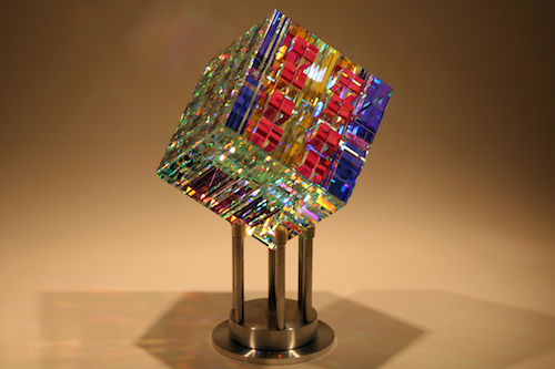 Chroma-Cube-Fine-Art-Glass-Contemporary-Sculpture-by-glass-artist-Jack-Storms5-Glass-Sculpture-by-Fine-Art-Glass-Artist-jack-Storms1