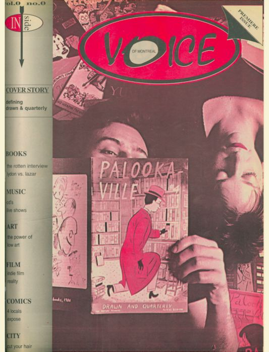 VOICE FIRST ISSUE VOL0 NUMBER0
