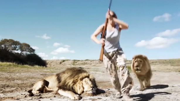 Lion Takes Revenge On Trophy Hunter! [LEAKED VIDEO]