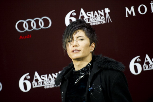GACKT 6th Asian Film Awards Held In Hong Kong