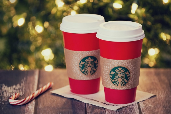 Starbucks holiday beverage